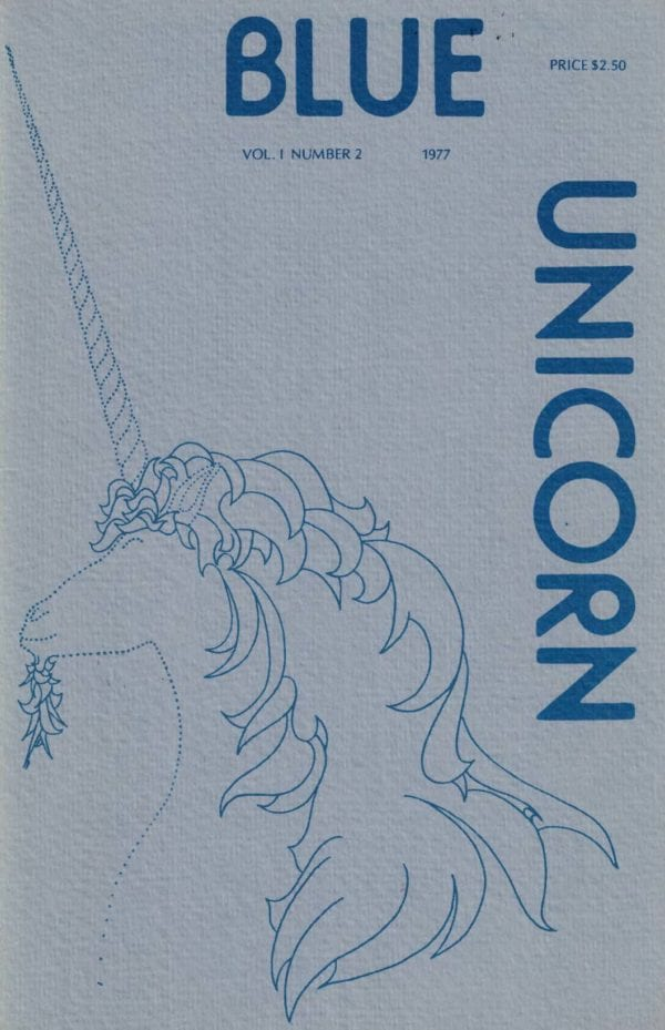Blue Unicorn - Vol. 01, No. 2 (Feb. 1978) Cover