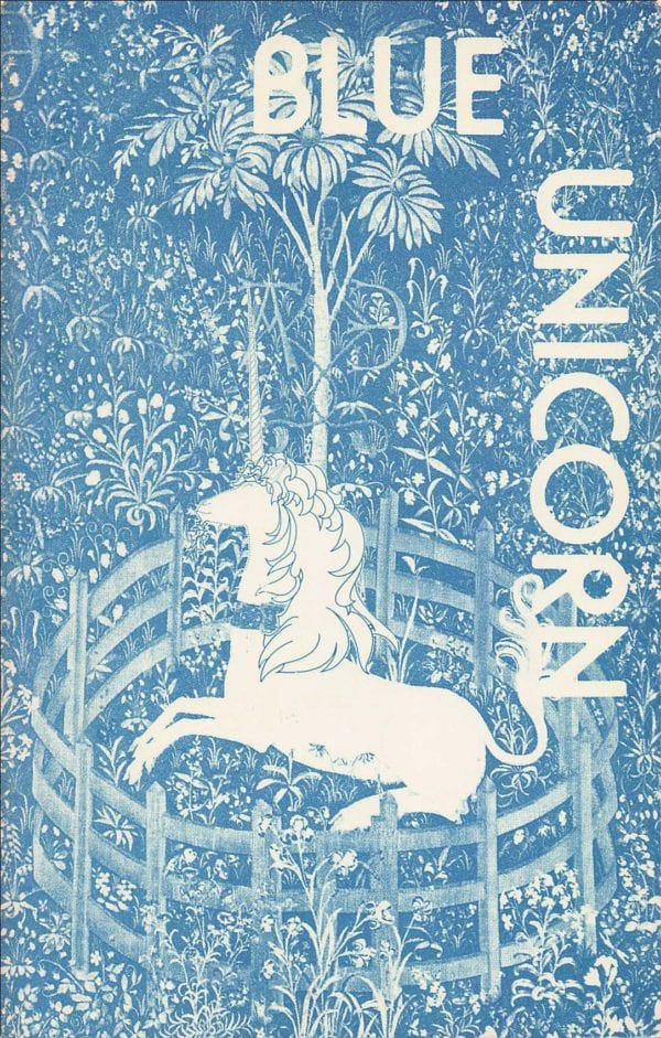 Blue Unicorn - Vol. 02, No. 1 (Oct. 1978) Cover