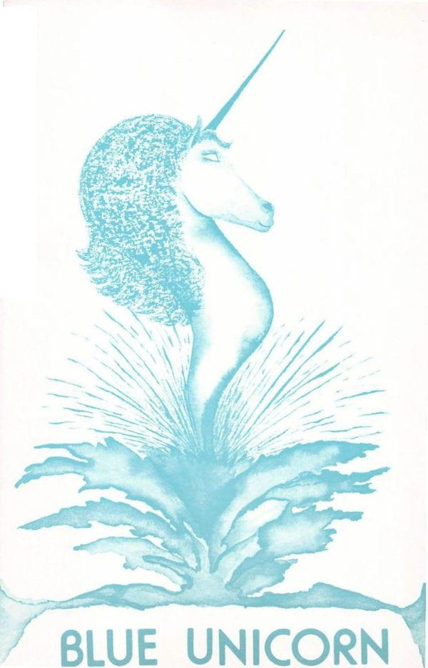 Blue Unicorn - Vol. 5, No. 3 (June 1982) Cover Image