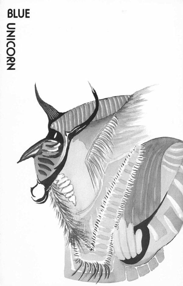 Blue Unicorn - Vol. 9, No.1 (Oct. 1985) Cover Image