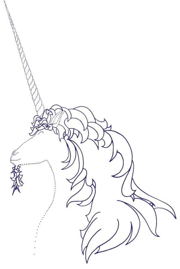 Blue Unicorn Logo