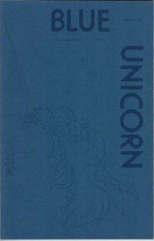 Blue Unicorn - Vol. 01, No. 1 (Oct. 1977) Cover